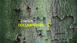 Online cursus documentaire maken 1